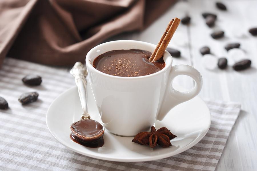 công thức pha chocolate nóng